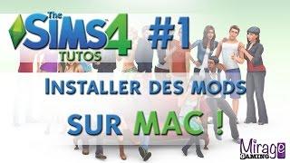 Tuto Sims 4 - Comment installer des Objets Téléchargés (MODS) sur MAC ? [Fr] #1