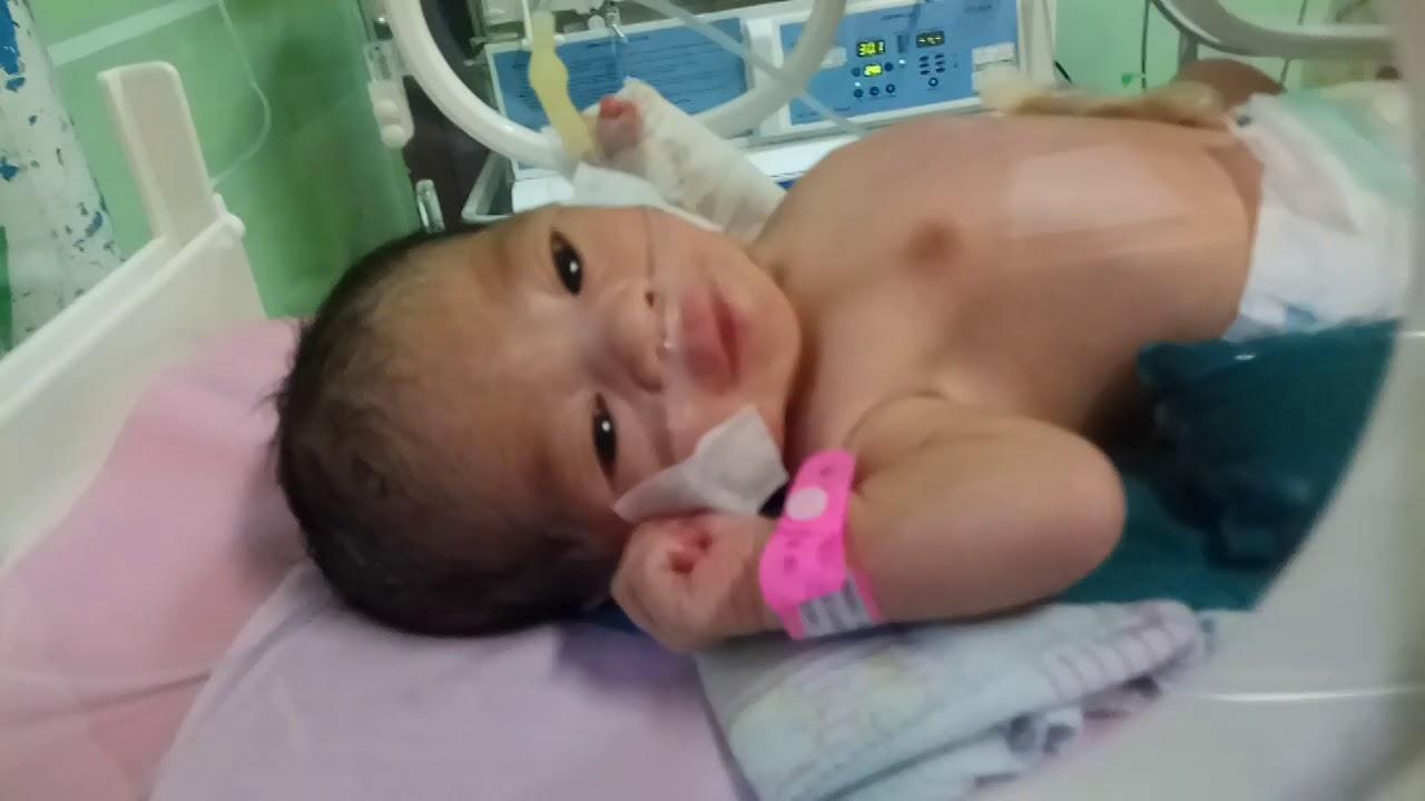 Bayi Baru Lahir Cantik Masuk Inkubator Bibir Merah Merona Youtube