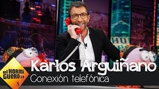 Pablo Motos al teléfono con Karlos Arguiñano: