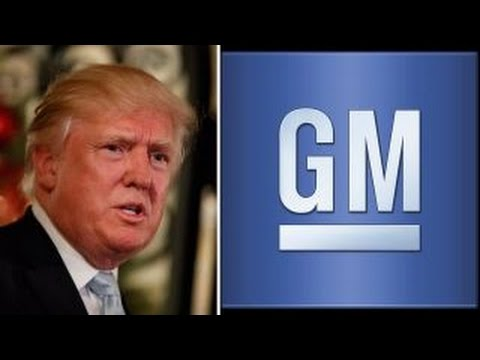 Trump makes an example out of General Motors on Twitter
