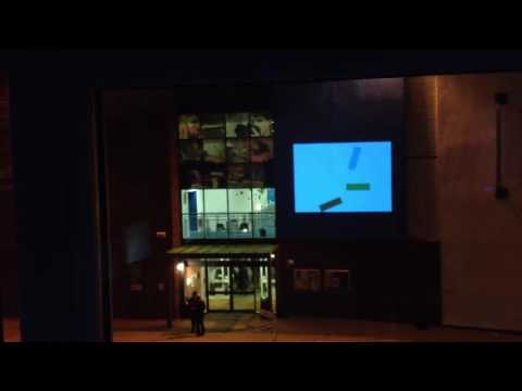 Exeter College of Art Projection
