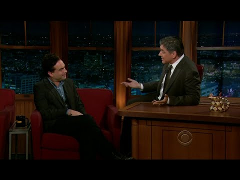 Late Late Show with Craig Ferguson 11/21/2011 Robin Williams, Johnny Galecki