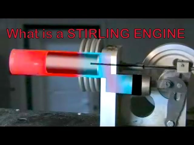 Best Stirling Engine Free Energy From The Sun Explained What Is A Stirling Engine Youtube