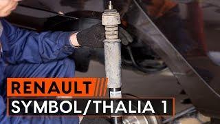 Installazione Ammortizzatori anteriore RENAULT SYMBOL / THALIA: manuale video