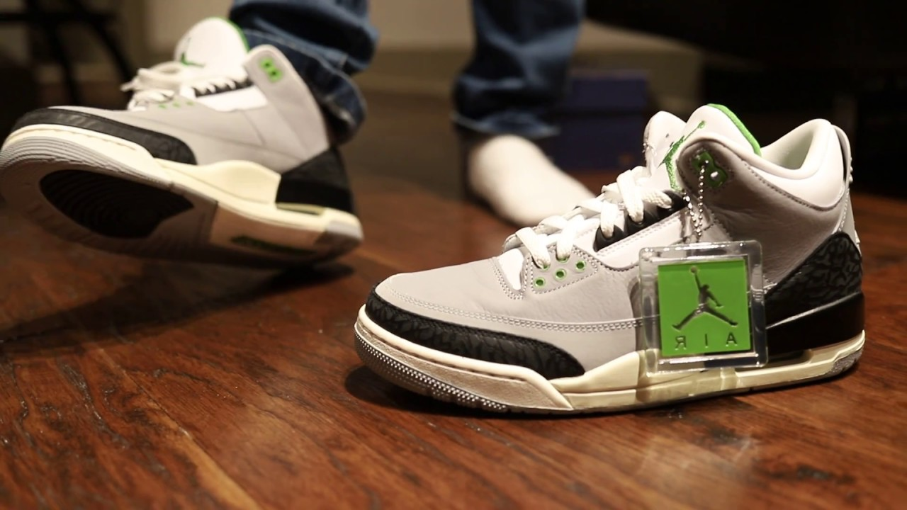 "d3ef86f0aa6 Air Jordan 3 ""Chlorophyll"" (Dope or Nope) + On Foot - YouTube"