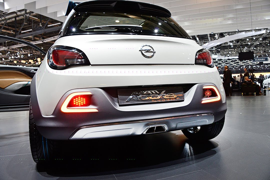 Opel Adam Rocks Preview Vom Genfer Autosalon 2013