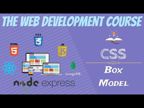 Module 2.5 | CSS | Box Model | The Web Development Course