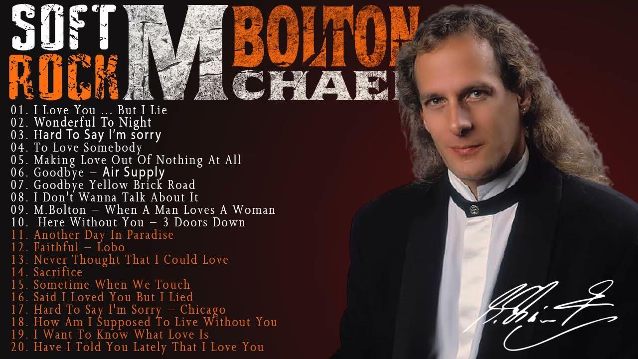 Michael Bolton, Lobo, Chicago, Rod Stewart, Eric Clapton,David Gates -Soft Rock Love Songs All