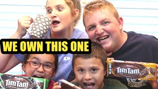 How to do the BEST Tim Tam Slam Challenge [Family Channel]
