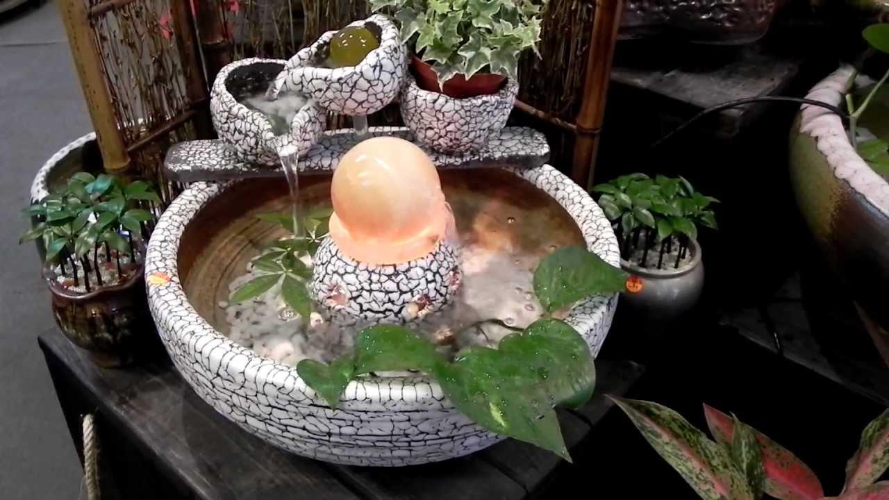 蟲蛀釉~雙球流水缸風水球~上華水族藝品~0958505913.MOV - YouTube