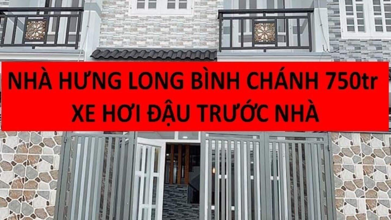 Nhà 130m² gần chợ BÌNH CHÁNH SHR chính chủ 2 lầu