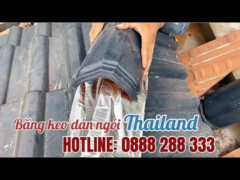Băng Keo Siêu Dính Dán Ngói Thailand | Băng Keo Siêu Dính Chống Thấm, Chống Dột Mái | Băng Keo Thái