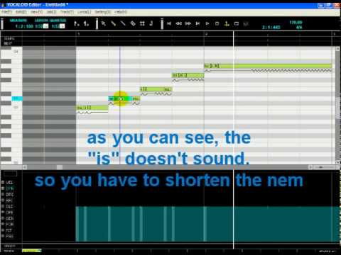 How to make Vocaloid sing in Engrish