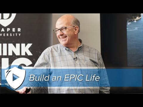 A Toolset for Building an Epic Life | Jeff Hoffman @ Draper University