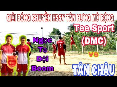 TEE SPORT (DMC) 4VS4 TÂN CHÂU | SEC 2 | NGỌC TẠ DỘI BOOM
