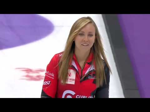 2018 World Cup of Curling - Womens Final Sweden (Hasselborg) vs Canada (Homan)