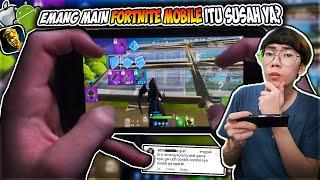 Emang Main Fortnite Mobile Di Android Itu Susah Ya? (Ini Pendapat Dari Player Mobile Lainnya)