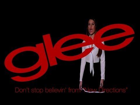 Don't stop believin' - Karaoke Version - Glee, Season Five