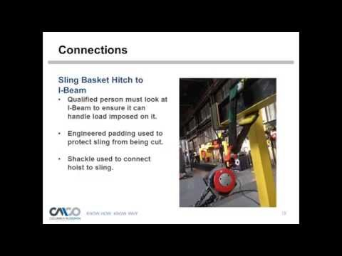 Safety Webinar: Using Hand Chain Operated Hoists at an Angle
