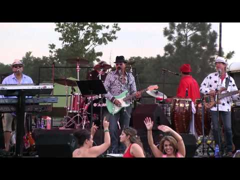 Wide Open Band performing in Arvada 4th of July Kool 105 show