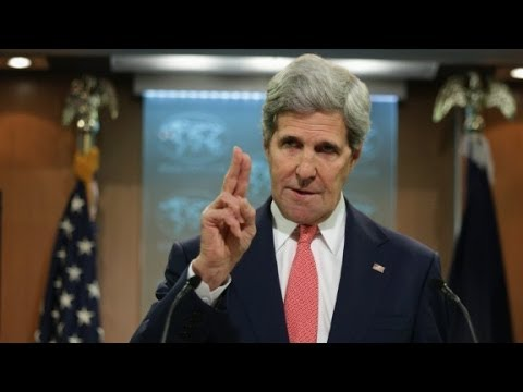 "John Kerry warns of Mideast ""Apartheid"""
