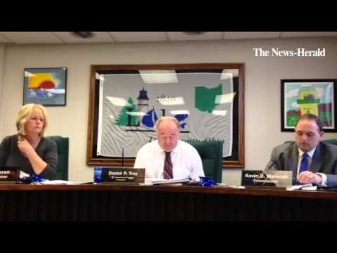 Video: Lake Co. Commissioner Daniel P. Troy discusses county administration building construction pr
