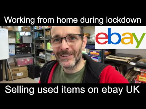 Uk Ebay Reseller Working From Home During Lockdown Youtube