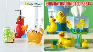 [Daily Decor] Kids Bathroom Decor Sets