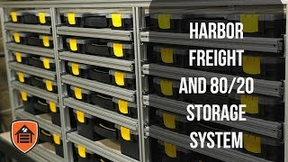 The Workshop - Ep2: Harbor Freight & 80/20 Storage System