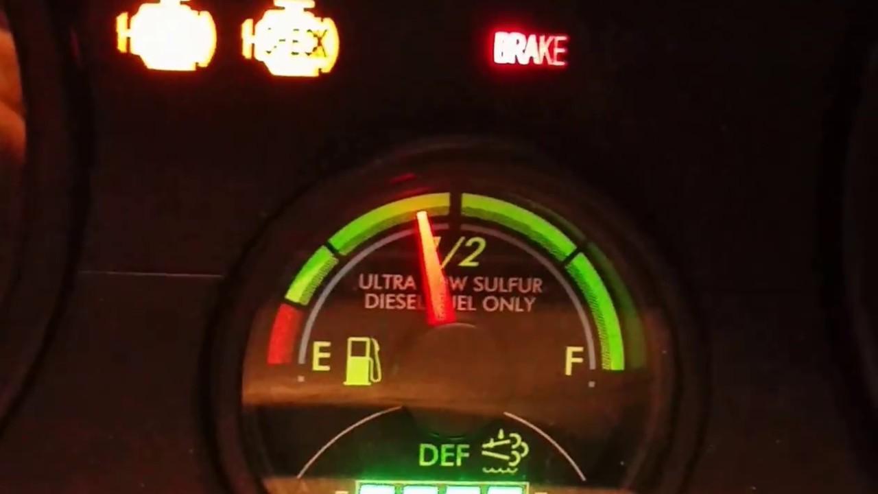 Check Oil Light