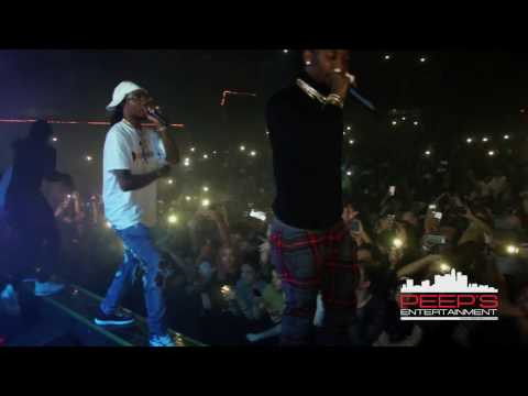 "Migos Live at the The Observatory performing their hit singles ""Bad and Boujee"" and ""Look At My Dab"""