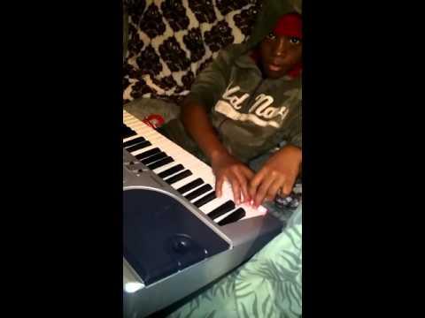 Antidote by Travis Scott and the bridge by MC Shane on piano 1