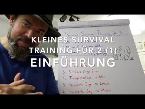 Kleines Sommer Survival Training zu Zweit! Einführung #1
