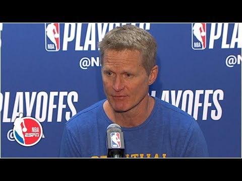 Kevin Durant and Klay Thompson were fantastic – Steve Kerr | 2019 NBA Playoffs