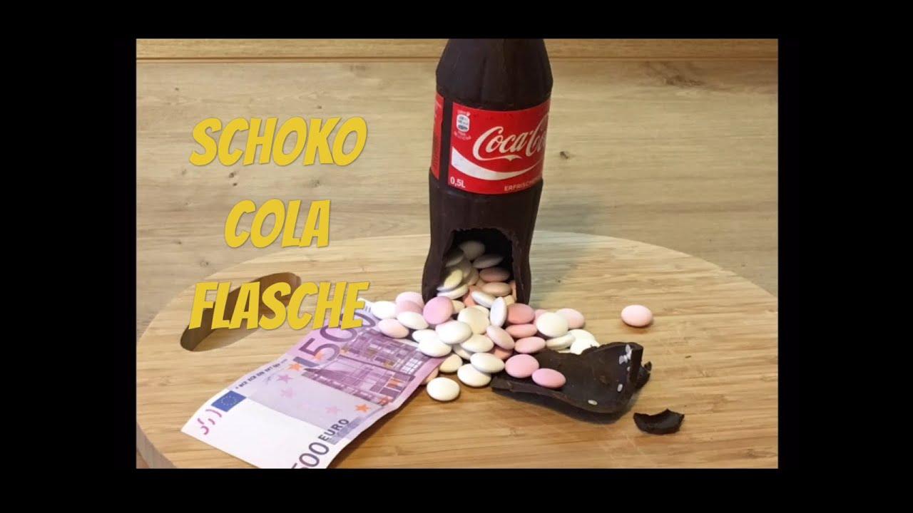 Coca Cola Flasche Aus Schokolade Machen Chocolate Coke Bottle