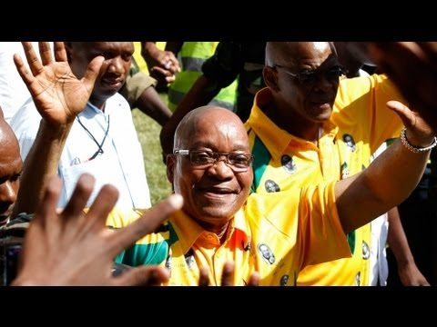 Jacob Zuma sings for ANC's 100th anniversary - no comment