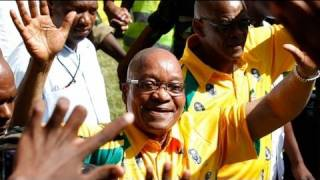 Jacob Zuma sings for ANC