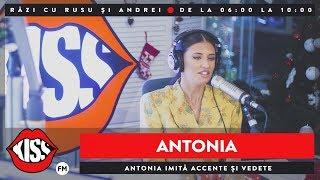 Antonia imita accente si vedete