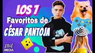 LOS 7 FAVORITOS DE CÉSAR PANTOJA