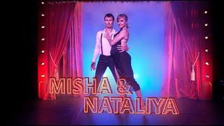Portrait d'artiste #6 - Natalayia et Misha, tissu aérien