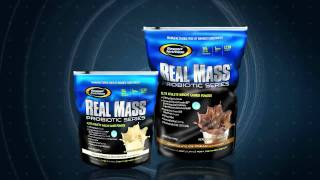 Real Mass Probiotic Series Weight Gainer from Gaspari Nutrition