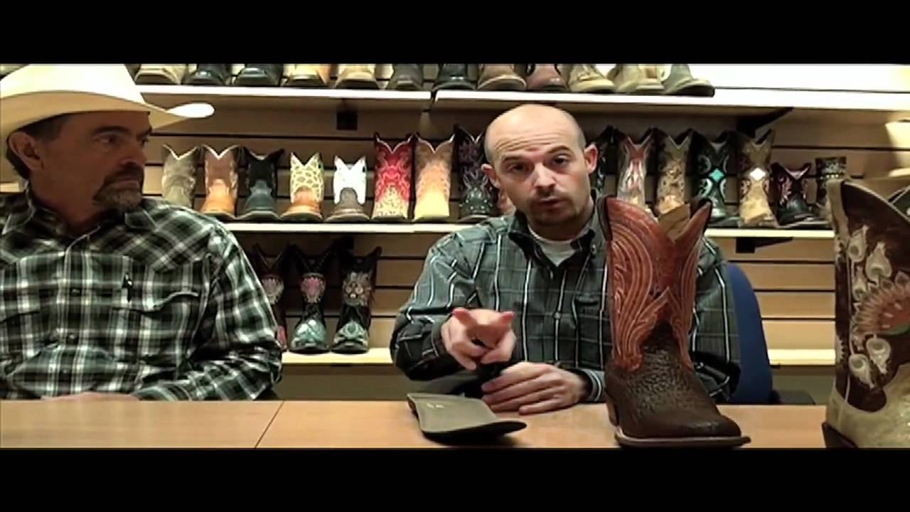 How are Ariat® Cowboy Boots Made? | F.M. Light and Sons - YouTube