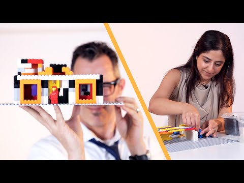 Architects Build Their Dream House Using Only Toys
