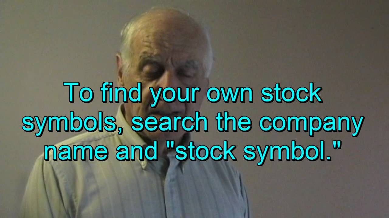 How to research a stock financial tutorial for beginners tom how to research a stock financial tutorial for beginners tom willett biocorpaavc Choice Image