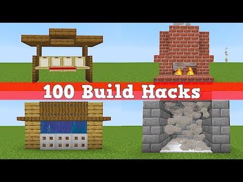 100 Bauhacks In Minecraft   100 Minecraft Tipps Und Tricks