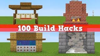 100 Bauhacks in Minecraft | 100 Minecraft Tipps und Tricks