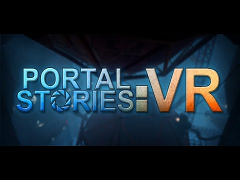 Portal Stories: VR - HTC Vive. Excelente diseño, pero muy fácil. No comments.