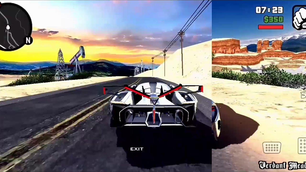 GTA SA Remastered HDR V2 2021 | Android