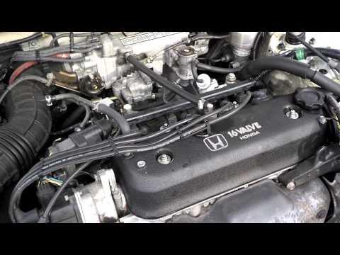 1993 Honda accord idle problem.