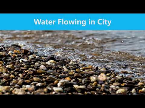 Relaxing Water Flow in the City (CC BY 4.0)